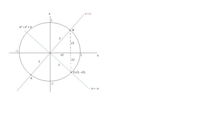 triângulo isósceles e circunferência    Isott10