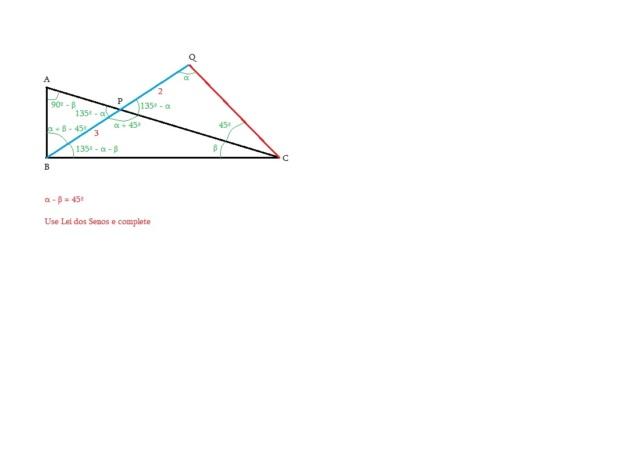 Exercício sobre Triângulo Retângulo Leisen10