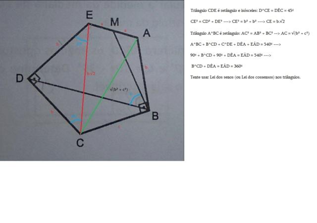 Pentágono - Geometria Plana Pentai10