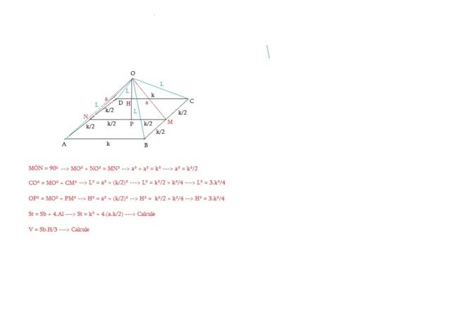 Geometria Espacial - Prisma Piram410