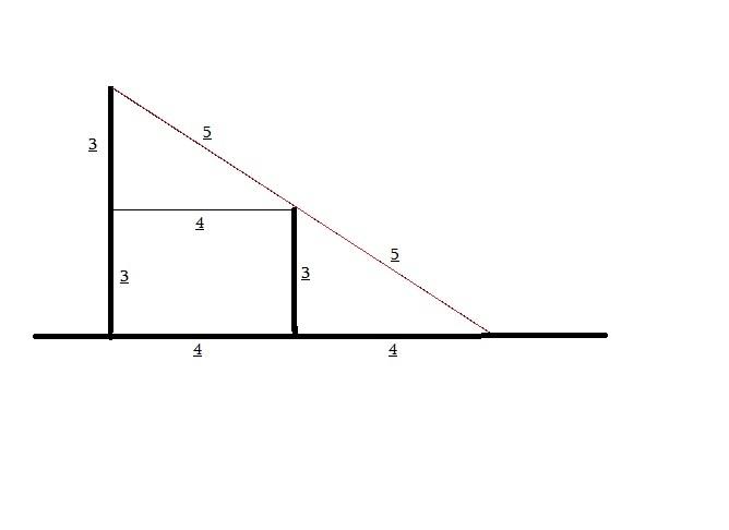 semelhança de triângulos Postes10