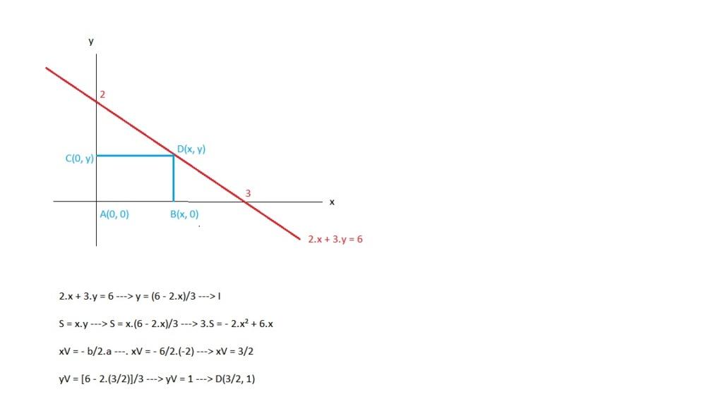 (UFV MG/2010/Janeiro) Um retângulo tem três d Ratmax10