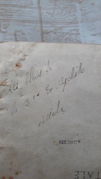 Papier prisonnier de guerre ww2 15389910