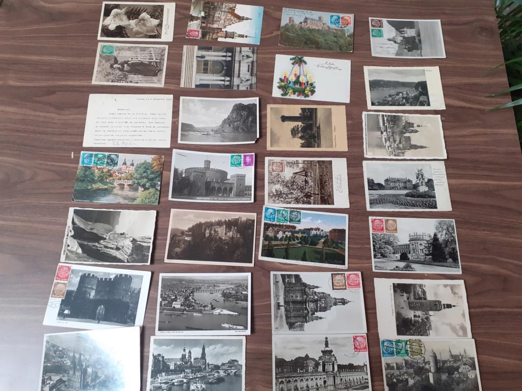 Correspondance avant ww2, carte postale  20201217