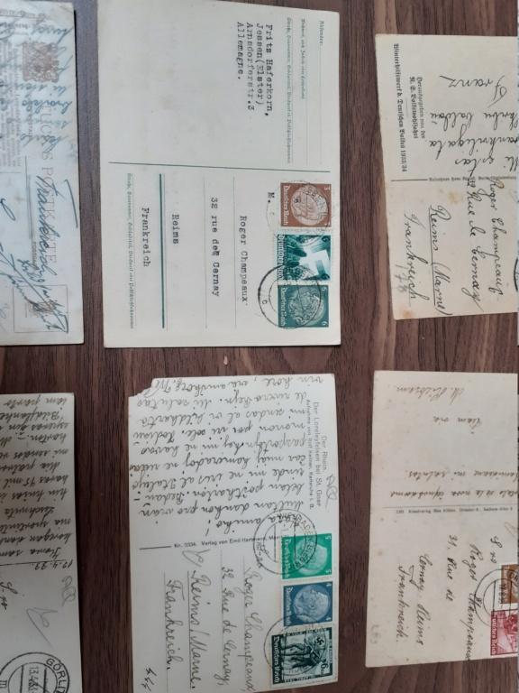 Correspondance avant ww2, carte postale  20201219