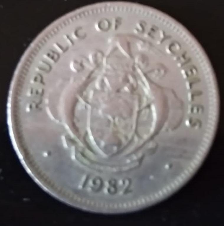 Seychelles, 1 rupia de 1982 114