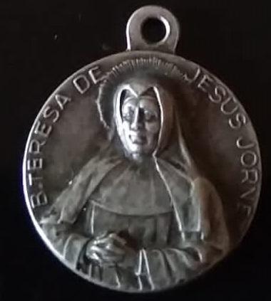 medalla religiosa 115