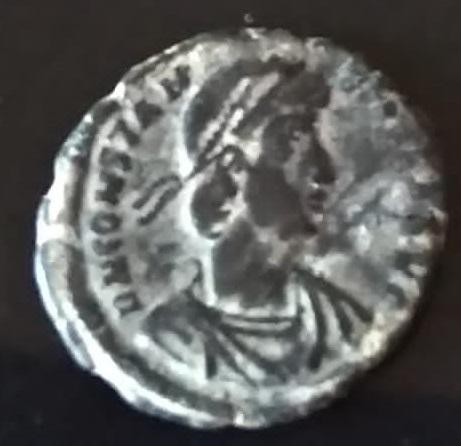 AE3 de Constancio II. FEL TEMP REPARATIO. Roma 312