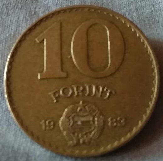 Hungría, 10 Florines de 1983 Img-2083