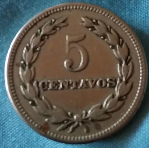El Salvador, 5 Centavos de 1950 Img-2086