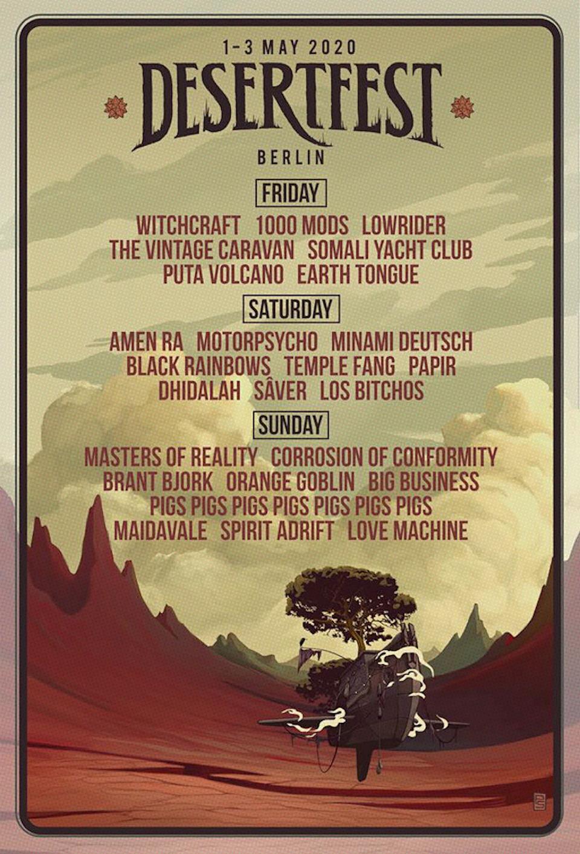Desertfest Berlin 1-3 mayo 2020 Desert10