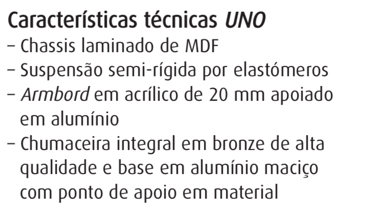 Racks para equipamento audio nacionais Captur10