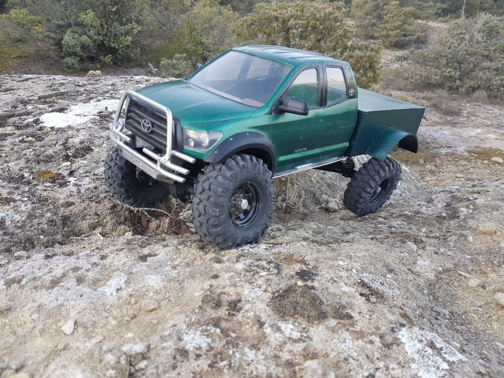 Un Tundra sur base SCX10 20190213