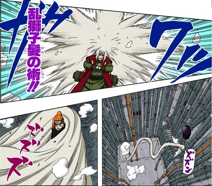 Kabuto é superior ao Jiraiya? Venha aqui é conte-me mais sobre isso 08314