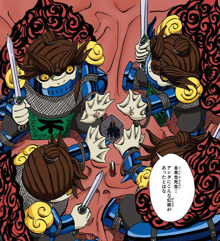 Kabuto é superior ao Jiraiya? Venha aqui é conte-me mais sobre isso 17612