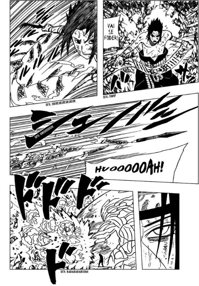 Nagato vs Itachi e Kisame Narut119