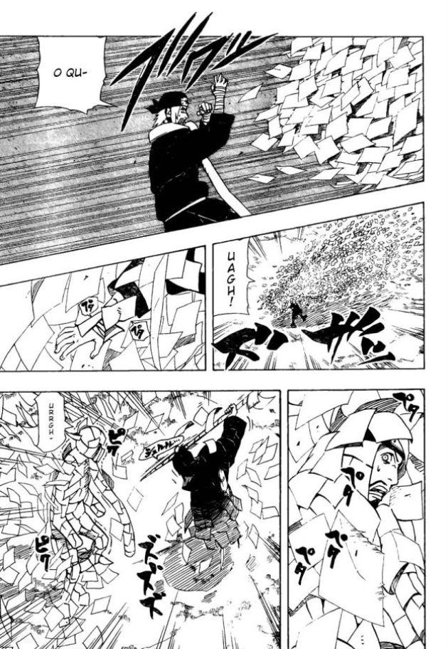 Jiraya vs Itachi (Edo) Narut428