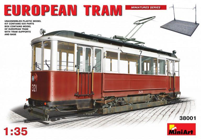 European tramway Miniart 38001_10