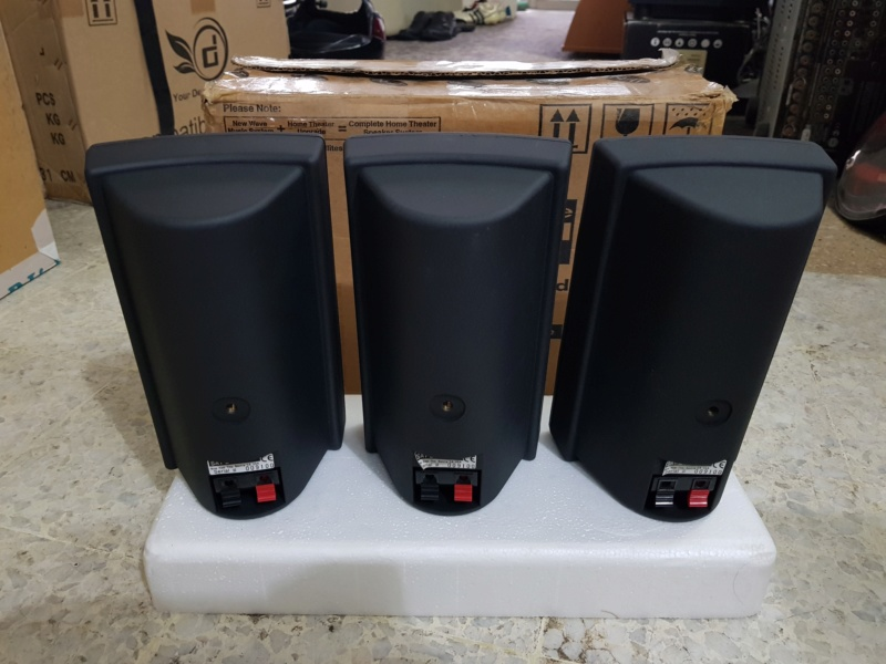 NewWave - Center/Surround Speaker System by NHT 20180914
