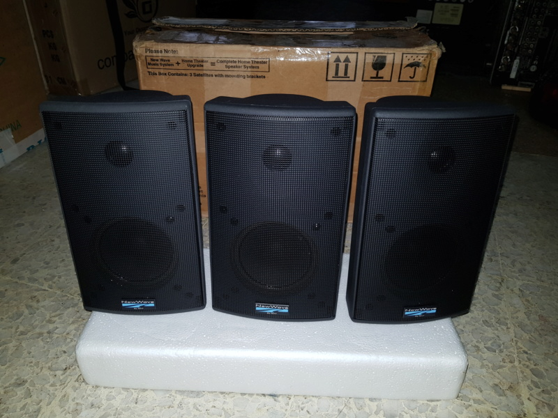 NewWave - Center/Surround Speaker System by NHT 20180916