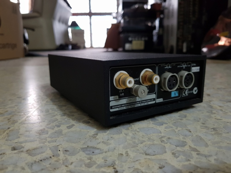 SOLD - Naim STAGELINE Phono Stage Type (N) - Moving Magnet 20180919