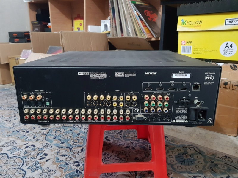 "NHT Power5 - 1000 watt Power Amp. (Free ""NHT Controller"" as a complimentary deck) 20181012"