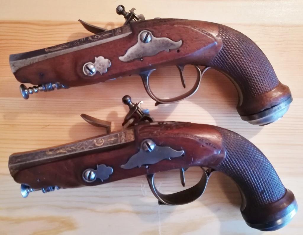 paire de pistolets à silex  Img_2022