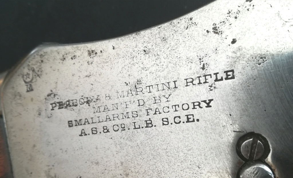 "marquage fabricant sur "" martini-peabody rifle ""  Img_2077"