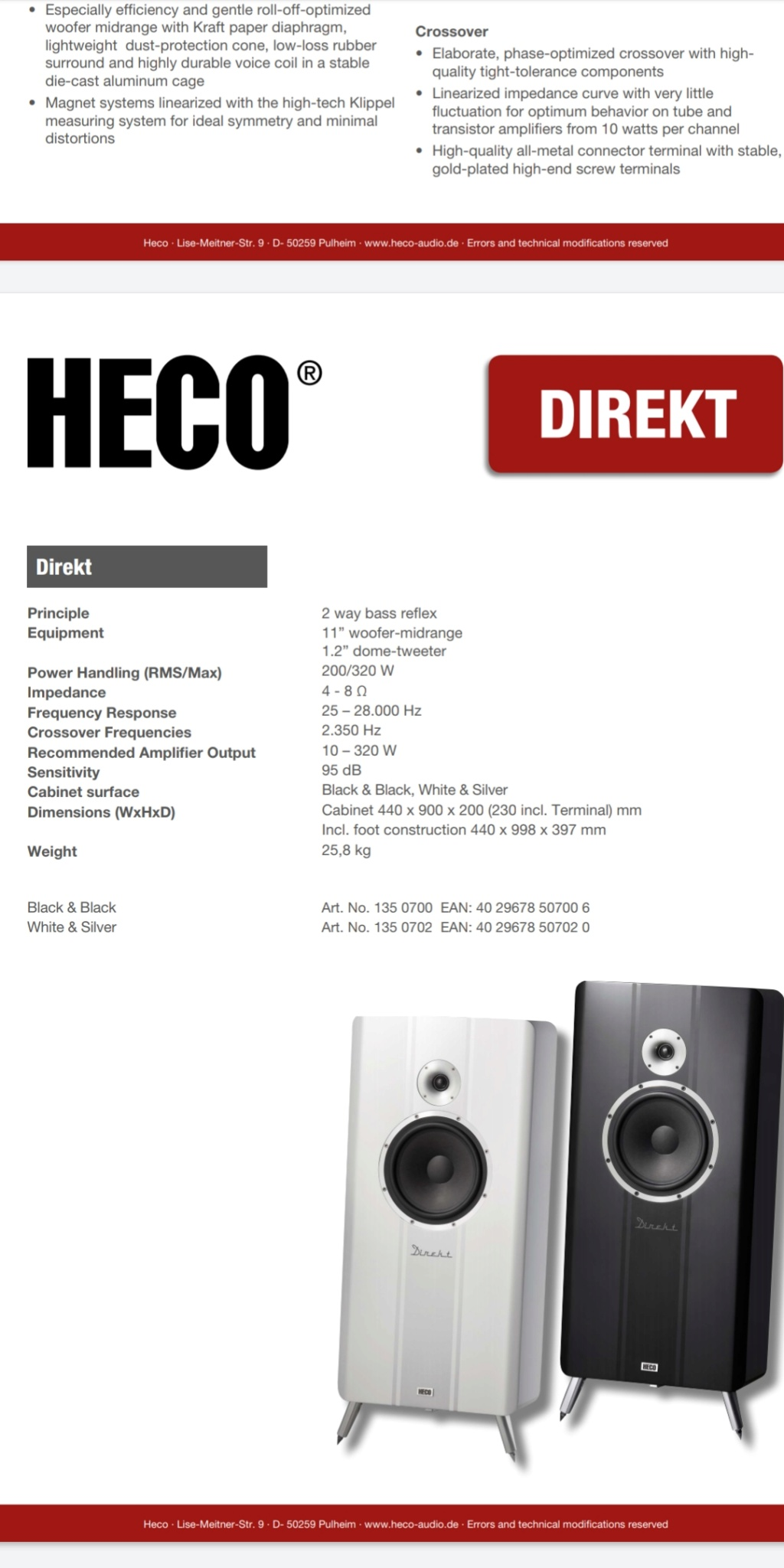 Vendo o cambio cajas Heco Direkt Screen10