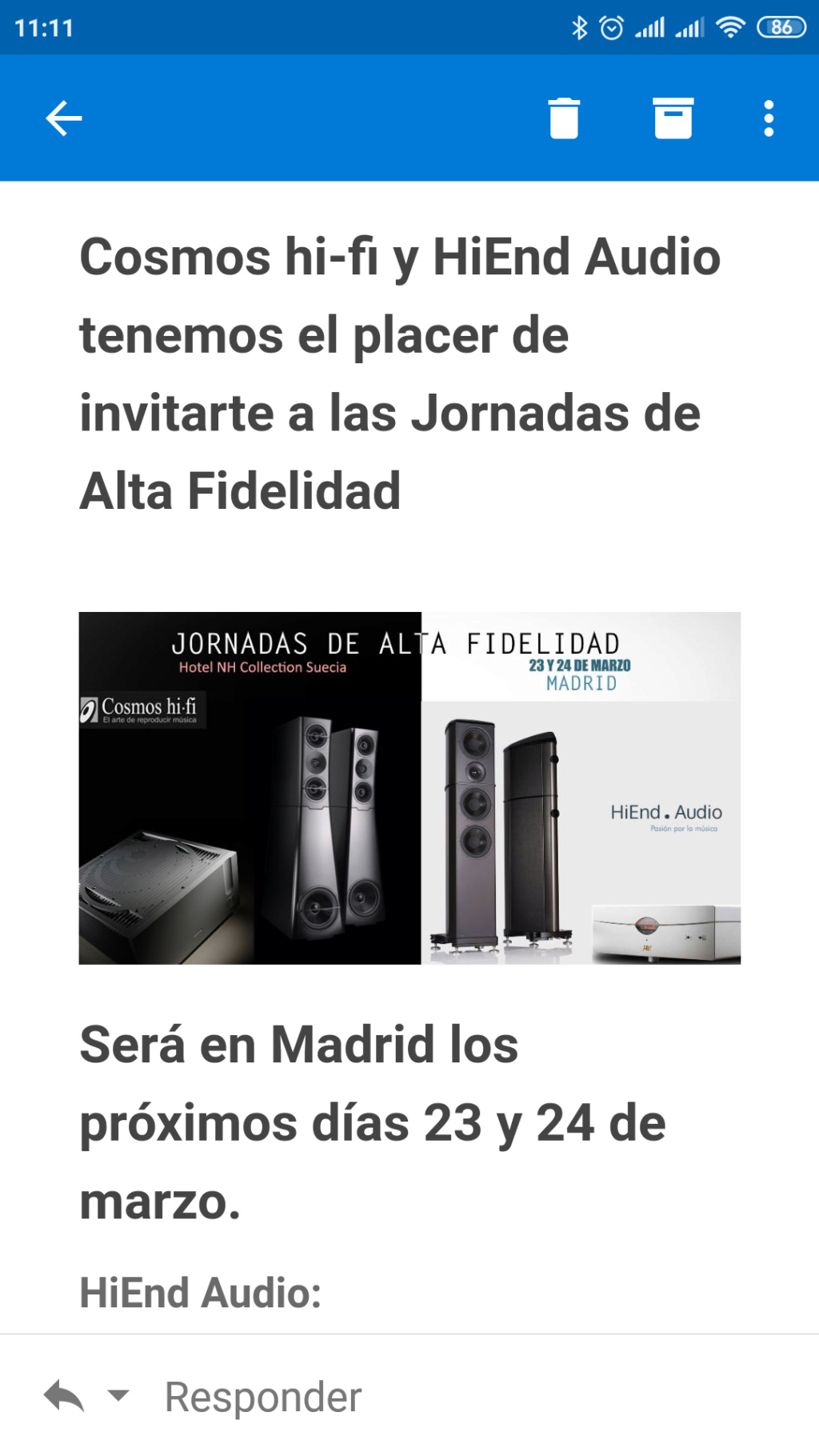 Jornadas Alta Fidelidad en Madrid Screen10