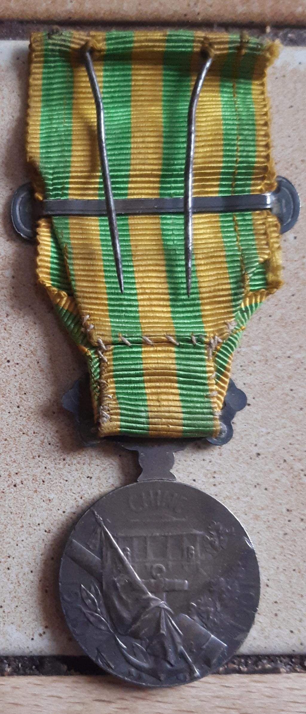Médaille commémorative de Chine 1900 - 1901 Verso21