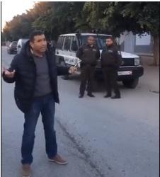 Protestation après le meurtre d'un sexagénaire dans sa maison à Menzel Kamel Menzel10