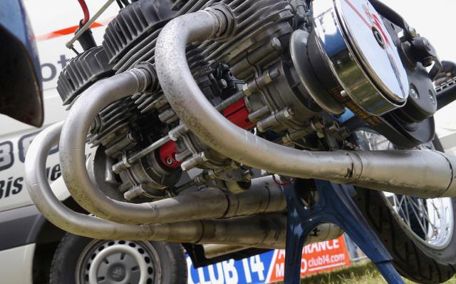 A 130 sur un Vélo Solex Gump Image274