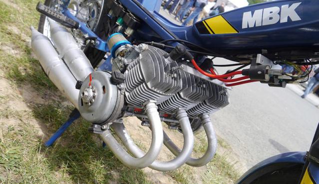 A 130 sur un Vélo Solex Gump Image275