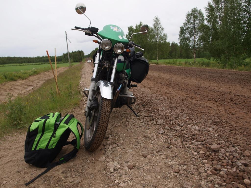 Cap au Nord pour les filles en vert P1012810