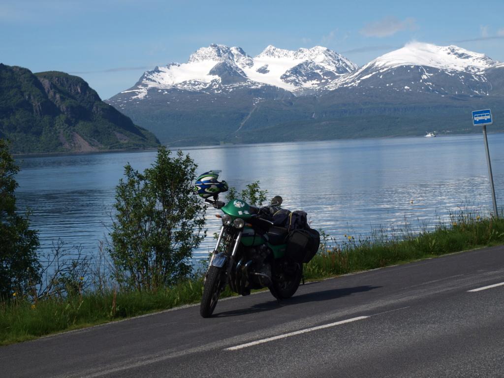 Cap au Nord pour les filles en vert P1012811