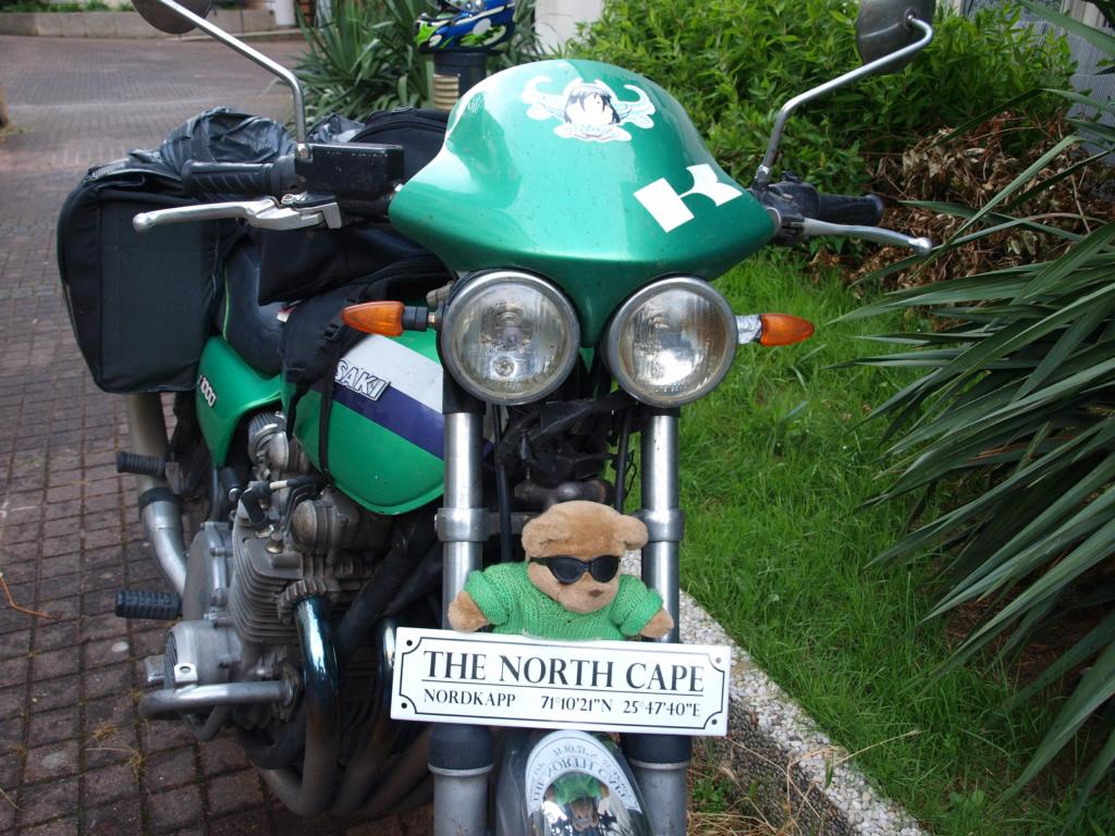 Cap au Nord pour les filles en vert P1012820