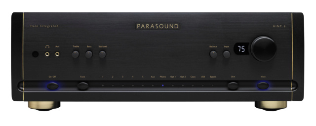 Parasound HINT 6 Halo Integrated Amplifier Hint6_10