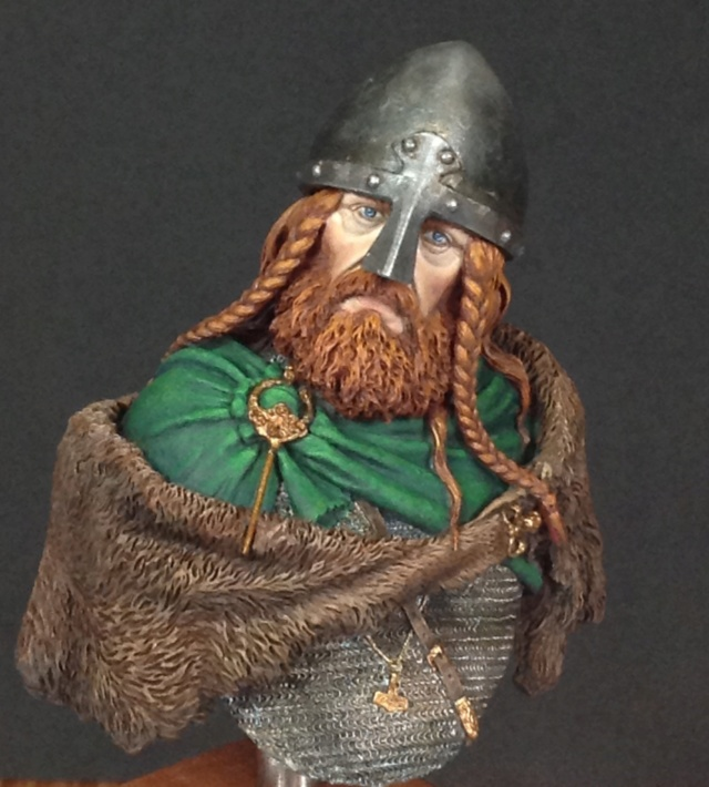 Busto Viking 1/10 Castle Miniatures Img_0513