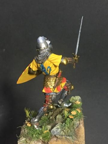 Thiago Von Koldice, Batalha de Crecy 54mm Img_1316