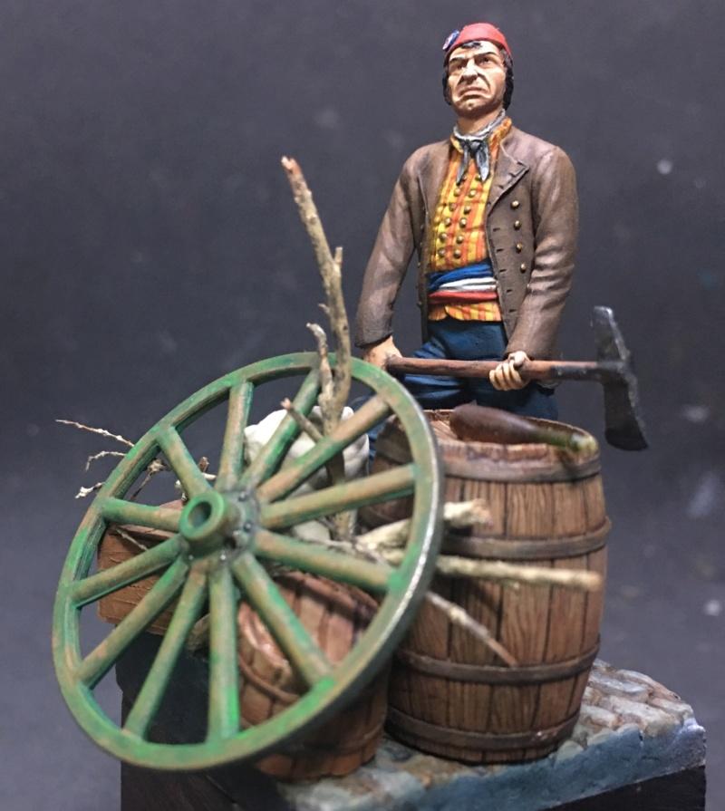 Lê San Culotte - Revolução Francesa - ArtGirona 54mm Img_9611