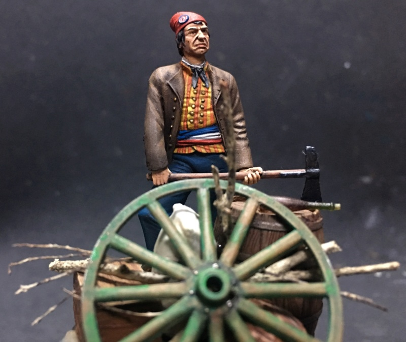 Lê San Culotte - Revolução Francesa - ArtGirona 54mm Img_9612