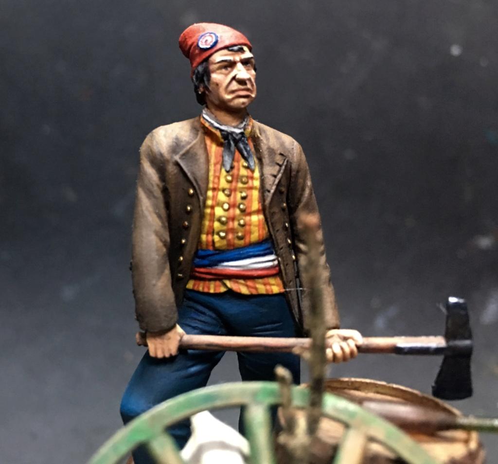 Lê San Culotte - Revolução Francesa - ArtGirona 54mm Img_9613