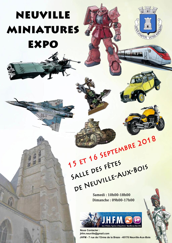 Neuville Miniature Expo - 15/16 Septembre 2018 Affich10