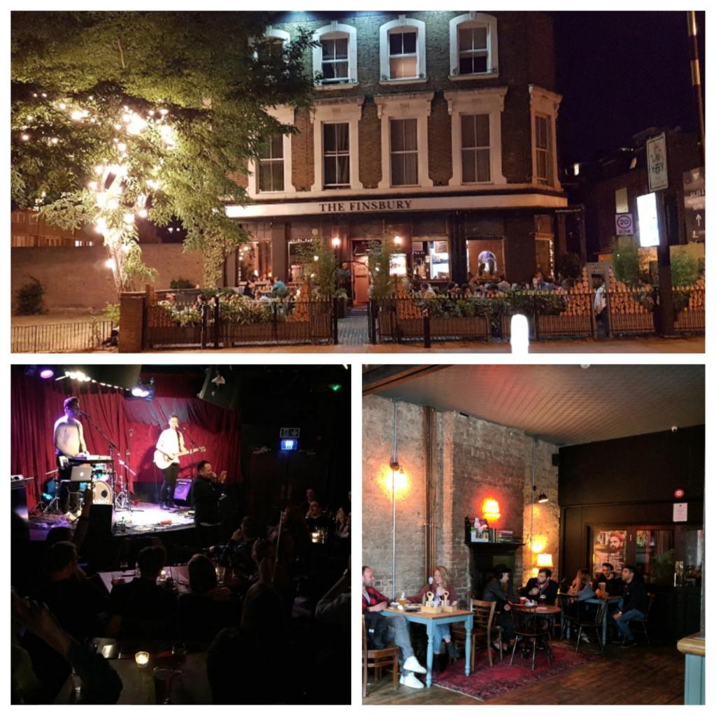 Noche de Jazz en The Finsbury (Abathon) Thefin10