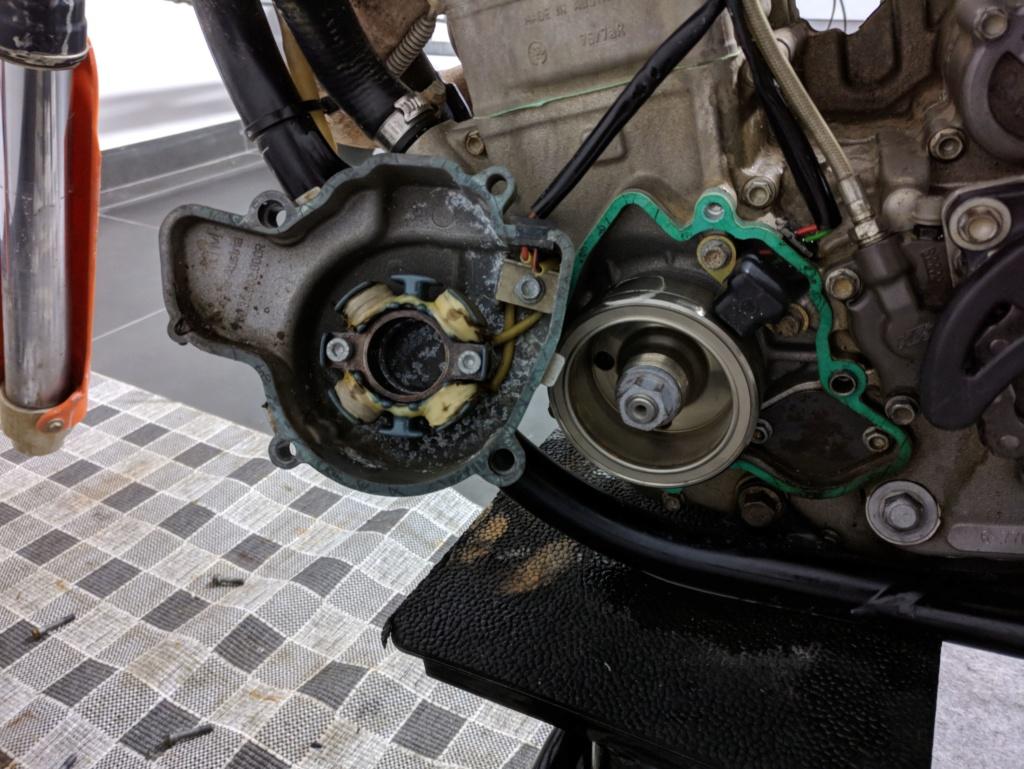 Colocar luz em KTM SX Stator10