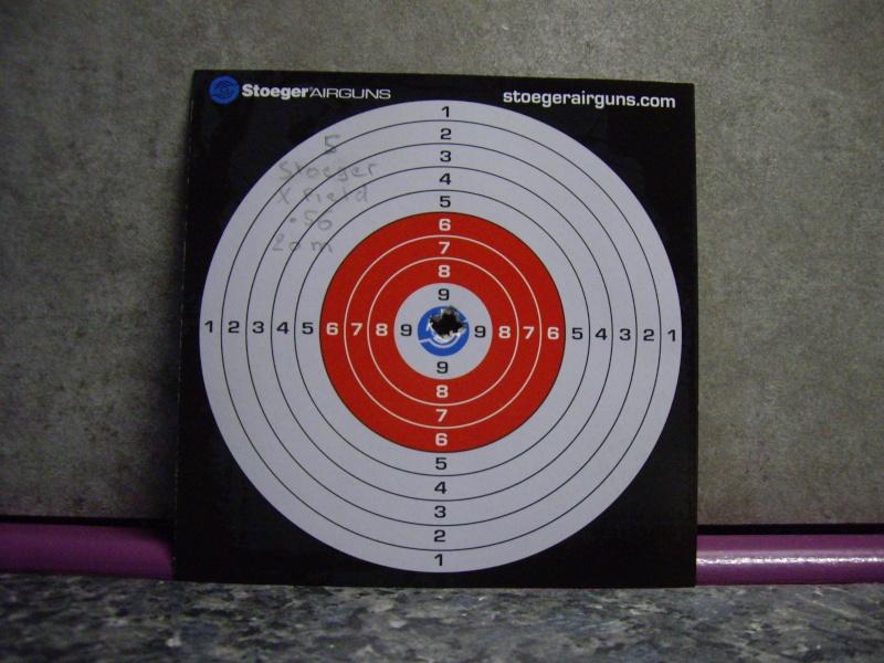 Tests plombs avec carabine Weihrauch HW97 BL Carton14