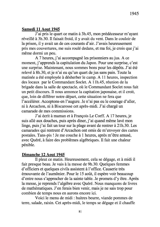 [ Histoires et histoire ] Mon oncle Georges Le Brazic - Carrière Marine, du Maquis à l'Indochine de 44 à 48 Livre280