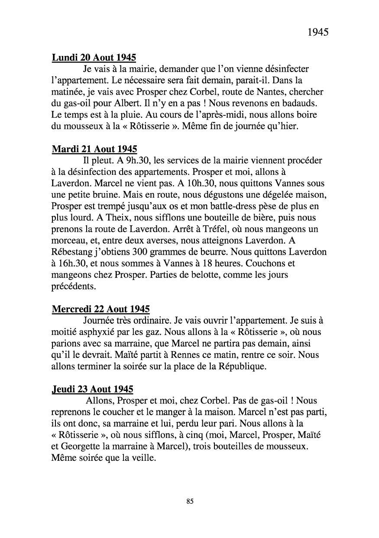 [ Histoires et histoire ] Mon oncle Georges Le Brazic - Carrière Marine, du Maquis à l'Indochine de 44 à 48 Livre283