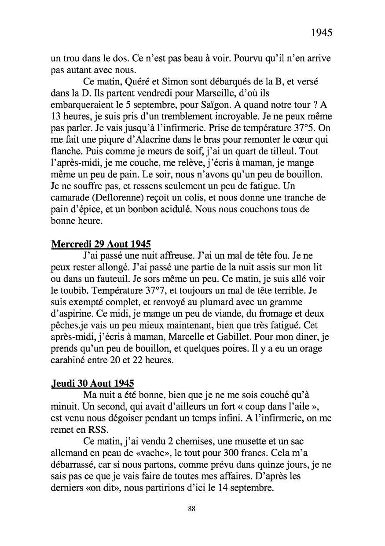 [ Histoires et histoire ] Mon oncle Georges Le Brazic - Carrière Marine, du Maquis à l'Indochine de 44 à 48 Livre284